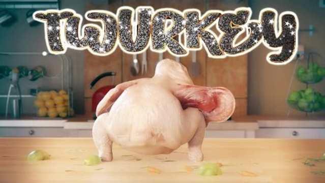 Twerking turkey
