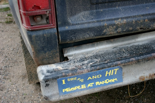 trucker bumper stickers, best truck driver bumper stickers