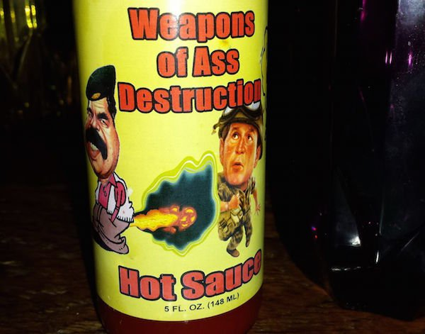 funny hot sauce labels