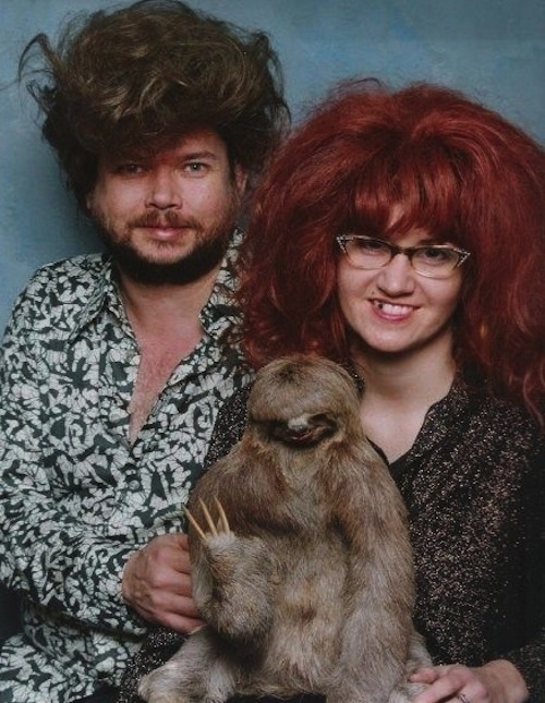 This wonderfully adorable family.
