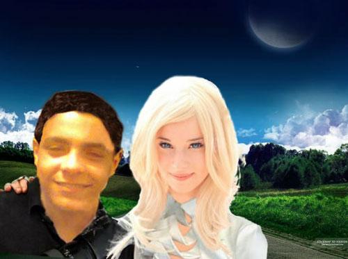 photoshop girlfriend moon