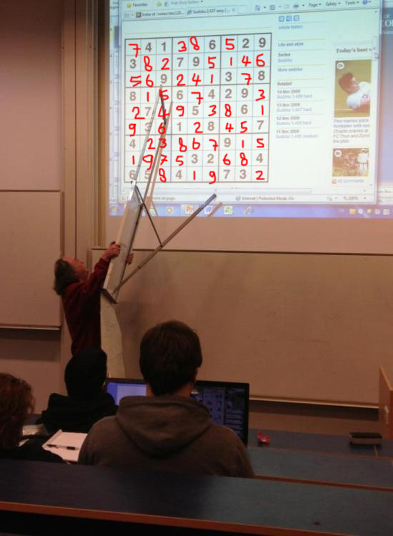 The sudoku teacher who discovered a GREAT pointer.