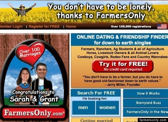 Motto: Single in the Country?