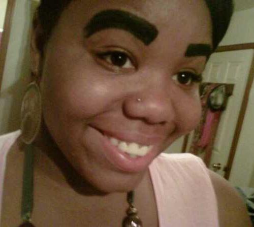 eyebrowfail wtf goth