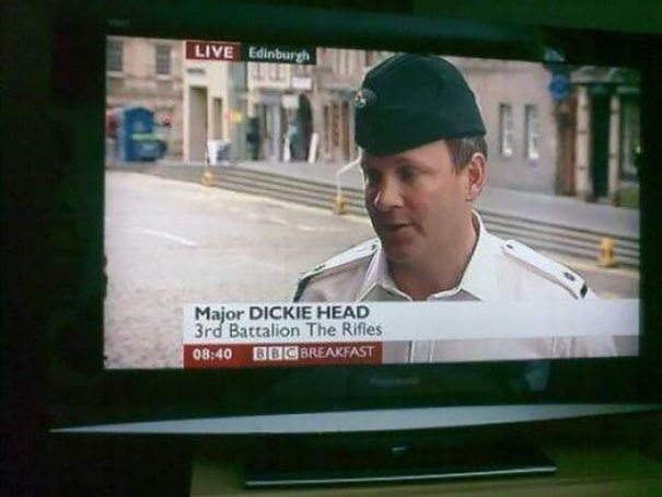 So he naturally goes by Dick for short, right?