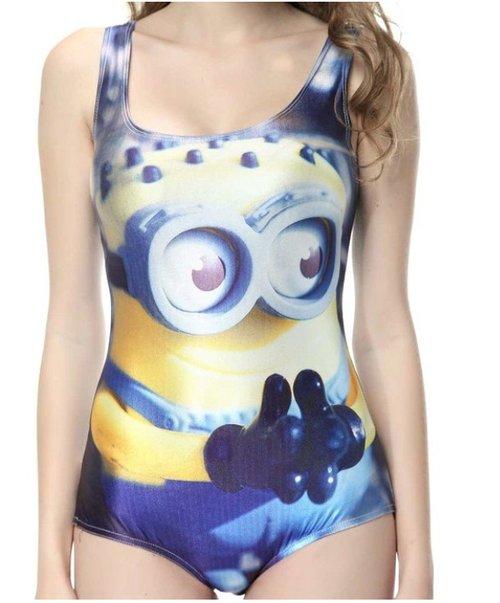 minion swim suit