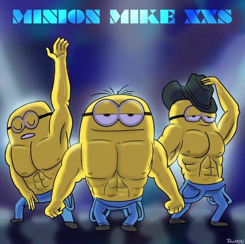 minion magic mike
