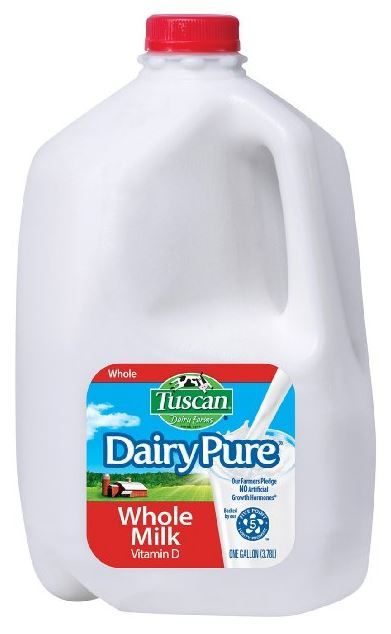 a gallon of milk from amazon